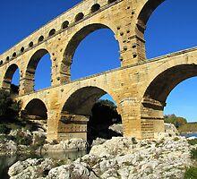 Pont du Gard, France by Jamie Alexander