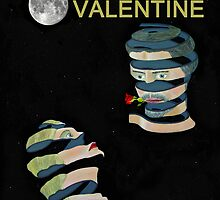 Two heads rose Be My Valentine by Eric Kempson