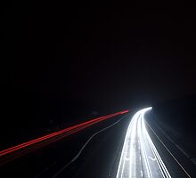 Motorway at Night by Duncan  MacKellar