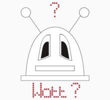 Robot (Watt? Dismayed eyes) Filled face Kids Clothes