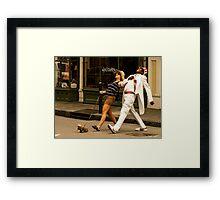 Happy-Go-Lucky Framed Print