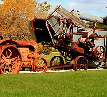 Vintage Old Machinery by Larry Trupp