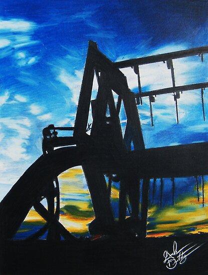 Harvest Sunset by Graham Beatty