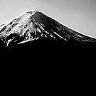 Dark Mt Fuji by mjds