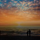 Lovers Sunset Stroll by Chappy