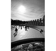 Walk Towards The Light Photographic Print