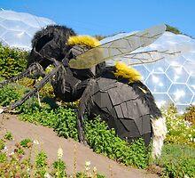 Giant Wasp: Eden Project: Cornwall. UK by DonDavisUK