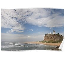 Nobby's Lighthouse From the Other Side! Poster