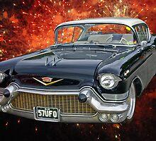 57 Cadillac UFO by TGrowden