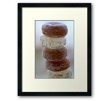 Sweet Stack Framed Print