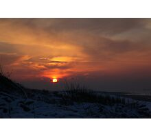 When The Sun Goes Down Photographic Print