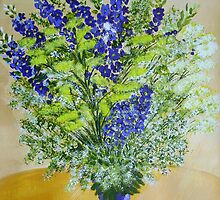 wild flowers in Vase by maggie326