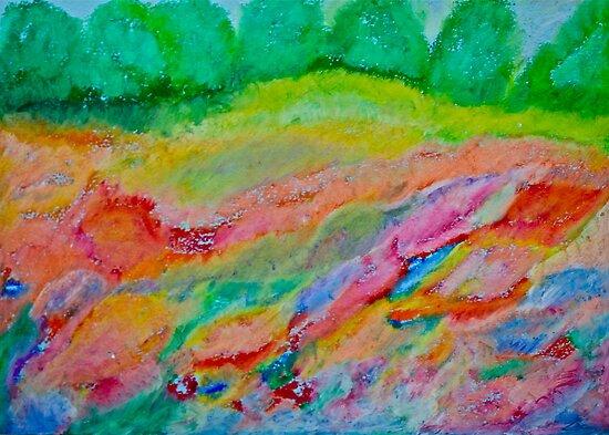 4786 views. Wonder's of spring feelings & impressionistic delusions  - Galicia - Poland .  chalk pastels by Brown Sugar . Views (3450) , Favs  (6) thanks !!! Bardzo dziękuję ! Mój rysunek pastelami !  by © Andrzej Goszcz,M.D. Ph.D