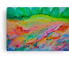 4786 views. Wonder's of spring feelings & impressionistic delusions  - Galicia - Poland .  chalk pastels by Brown Sugar . Views (3450) , Favs  (6) thanks !!! Bardzo dziękuję ! Mój rysunek pastelami !  Canvas Print