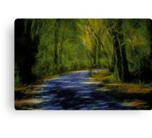 Forest Matrix Canvas Print
