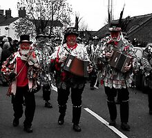 Red Leicester Morris Musicians. by Ruth Jones