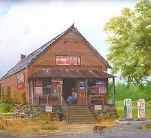 Lost Mountain Store, Cobb Co. Georgia by Vivian Eagleson