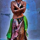 Belly Dancer (iii) by Vivian V  Mairo