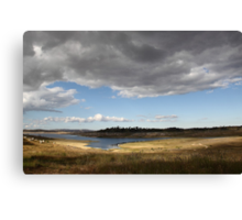 Big Stormy Sky Canvas Print
