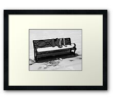 it is sometimes difficult to know the real story Framed Print