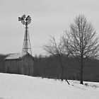 Winter Windmill by Ryne R Slater