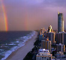 Gold coast storm - Queensland - Australia by Anthony Wilson