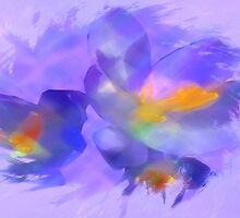 Water Color Crocus by Ryne R Slater