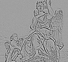Angels Of Versailles by Al Bourassa