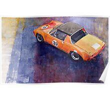 Porsche 914 GT Poster