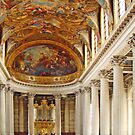 Chapel At Versailles by Al Bourassa