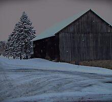 CrossRoads Barn by David Dehner
