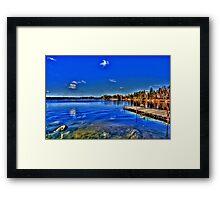 BRERETON LAKE  Framed Print
