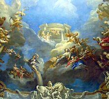 Magnificent Frescoes Of Versailles II by Al Bourassa