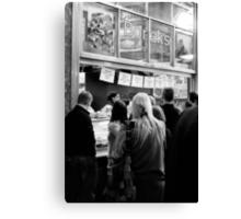 The Borek Shop - Melbourne Canvas Print