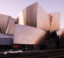 The Walt Disney Concert Hall by leungnyc
