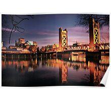 Sacramento Reflections Poster