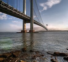 Verrazano-Narrows Bridge, New York City by leungnyc