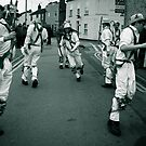 The Green of White Rose Morris Men. by Ruth Jones