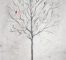Tree in Winter by Kayla Lisa