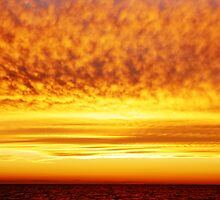 The Firey Sunset by Amy Dee