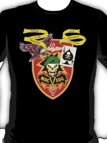 MacVsog with covert Cia  T-Shirt