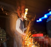 The Sound of a Saxophone - Antwerp Mansion, Manchester by Kris Extance