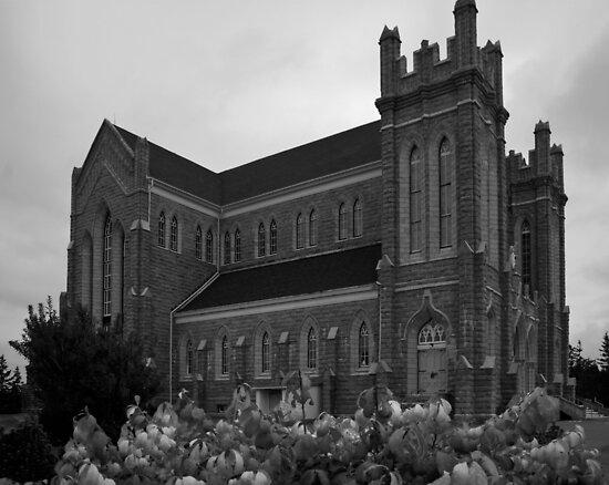 Saint Bernard Church by Harv Churchill