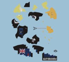 asteroiDs game tshirt by Ian RogerS 2009 by usala