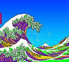 The Great Acid Wave Off Katagawa by Tigerpig