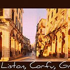 The Liston, Corfu, Greece by fruitcake