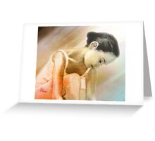 A Dancer's Prayer Greeting Card