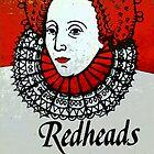 Redhead Matchbox labels - 1 by Kristen McLachlan