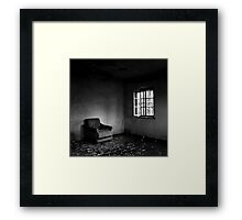 Empty Room Framed Print