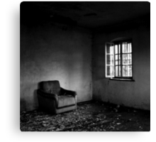 Empty Room Canvas Print